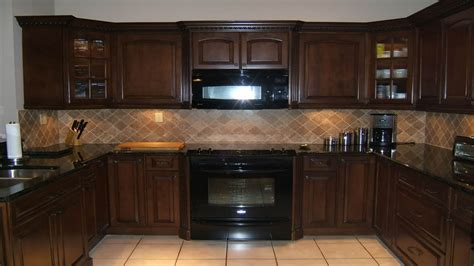 Black Brown Kitchen Cabinets Bathroom Wall Cupboards Brown Kitchen Cabinets With Black Appliances Maple Kitchen