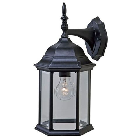 Craftsman Outdoor Light Fixtures acclaim 5181bk craftsman wall mount outdoor light fixture matte black yourplumberscrack offers