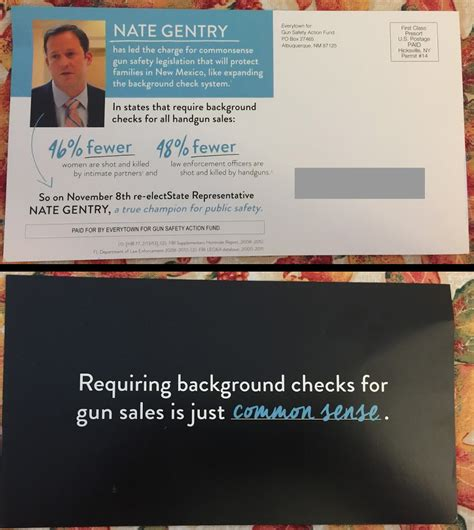 Background Check New Mexico Gentry Spurns Caign Donor With Gun Background Check Vote New Mexico In Depth