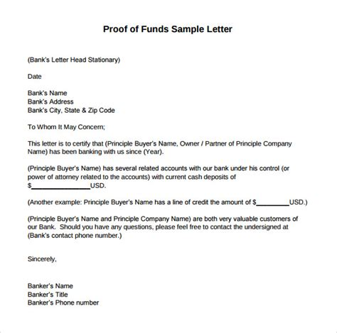 Proof Of Funds Letter Hsbc proof of funds letter free bike