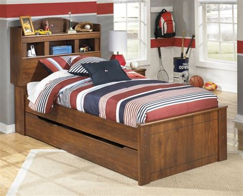 ashley furniture barchan twin trundle bookcase bed  classy home