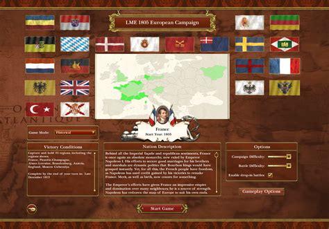 napoleon total war mac la montee de l empire lme a major modification mod napoleonic wars