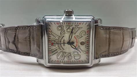 Jam Tangan Franck Muller A568 Grey jual beli jam tangan arloji mewah second original buy