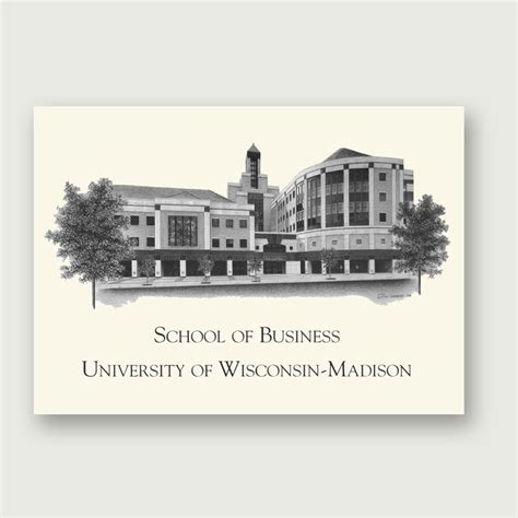 Univeristy Of Wisconsin Mba by Alumni Artwork Artwork Only 11 215 14