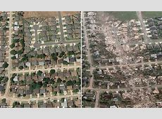 Oklahoma tornado 2013: Shocking before-and-after photos ... Ef5 Tornado Damage Before And After