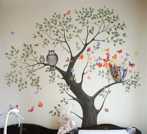 Large Childrens Wall Stickers best 25 tree wall painting ideas on pinterest tree
