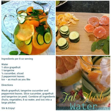 How My Looks Detox by Flush Water Recipe Fitness And Health