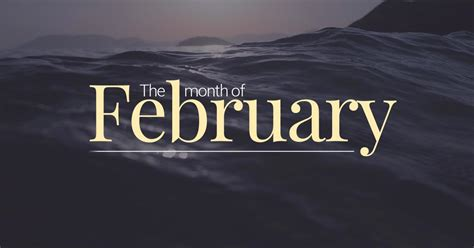 february  month   year
