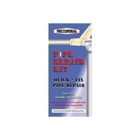 rectorseal 2 in x 4 ft pipe repair kit 82112 the home