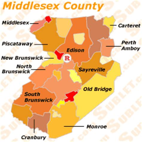middlesex county furnished apartments sublets short term