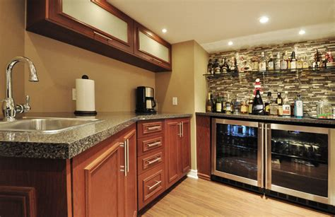 basement basement kitchenette small ideas kitchen installation small basement kitchens 8 ideas enhancedhomes org