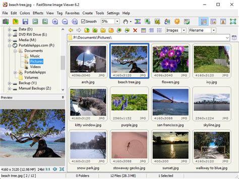 visualizador de imagenes jpg gratis download faststone image viewer portableapps v6 3
