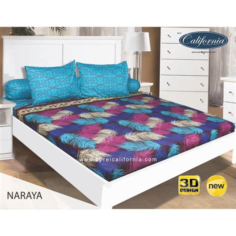 ww sprei california 160 naraya 160x200 size no 2