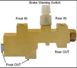 What Does It When The Brake System Warning Light Comes On Brake Conversion Ford Forums Ford Cars