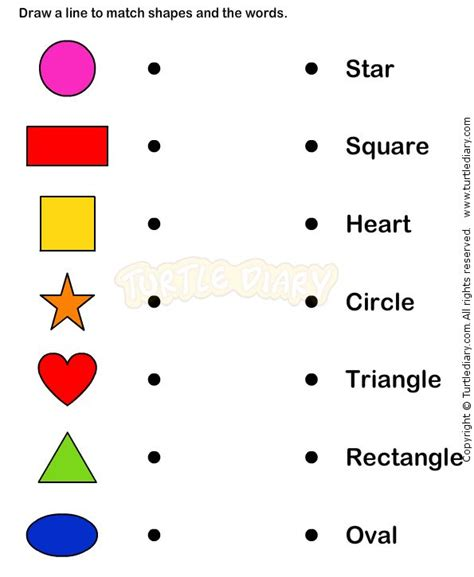 learn shape worksheets kindergarten mathkindergarten