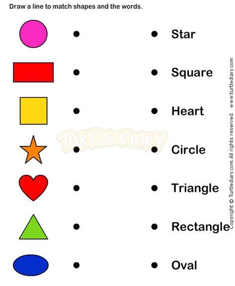 Kindergarten Learning Worksheets by Learn Shape Worksheets Kindergarten Math For The