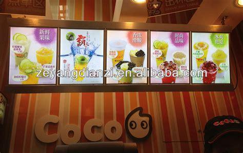 restaurants with light menus takeaway light up led fast food menu board restaurant food