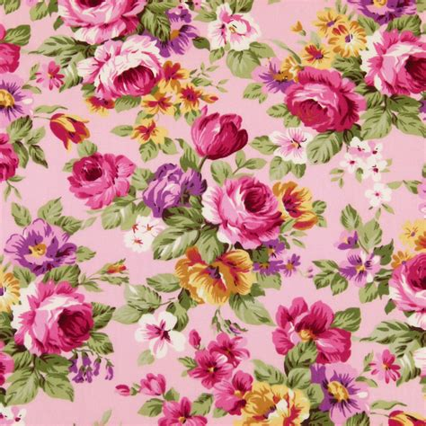 pattern for fabric roses cotton fabric by fq rose flower bouquet shabby vintage
