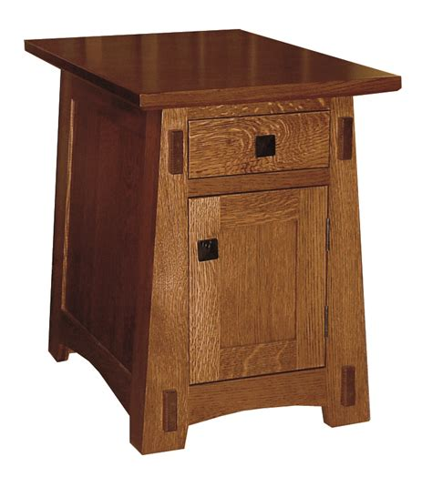 Amish Living Room Arts Crafts Small End Table Small End Tables For Living Room