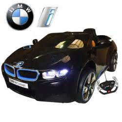 Electric Vehicles Uk Limited Edition Black Official Bmw I8 Series 12v Car With