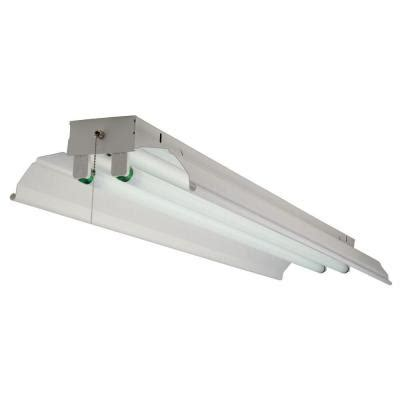 commercial electric 2 light fluorescent shop light