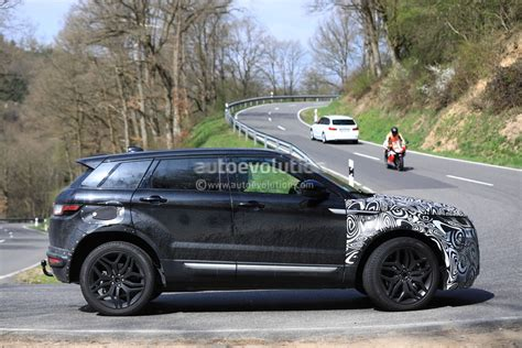 new land rover evoque all new range rover evoque mule spied inside and out