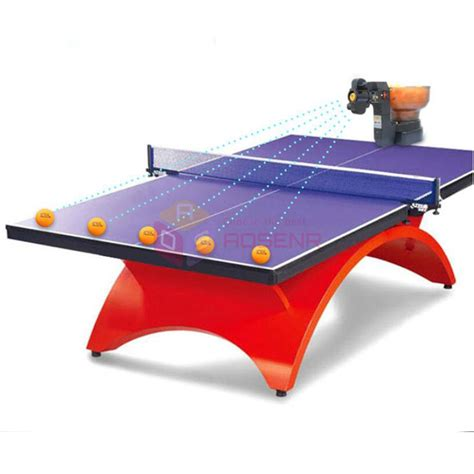 ping pong table machine ping pong table tennis robots machines automatic