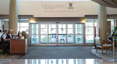 highland hospital emergency room 125th anniversary highland hospital of