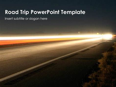 road trip powerpoint template free
