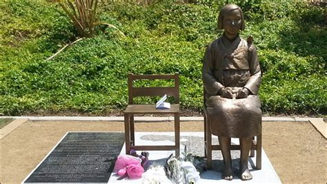 comfort women monument lawsuit seeks removal of comfort women statue