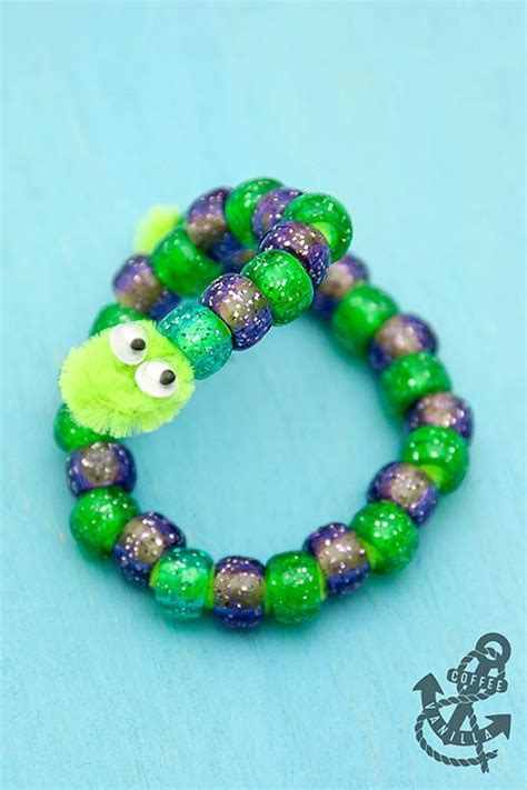 bead cleaning pipe cleaner bead animals 30 minute crafts beaded