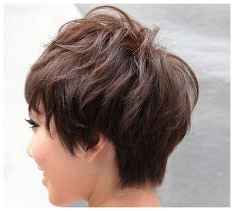short hairstyles back view back view of short hairstyles for women