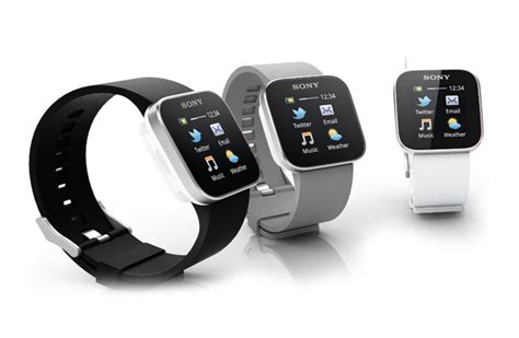 smart gadgets sony smartwatch links directly to your android smartphone
