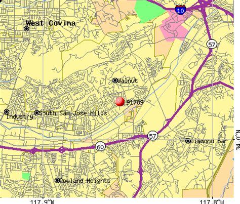 map of walnut california 91789 zip code walnut california profile homes
