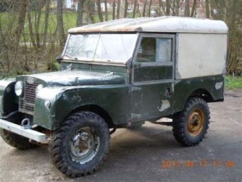 land rover series 1 for sale document moved