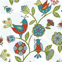 tessuti fiorati white bird animal flower fabric treat