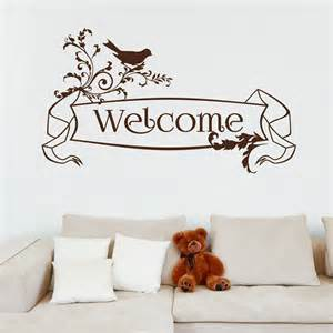 welcome wall sticker wall stickers welcome wall stickers