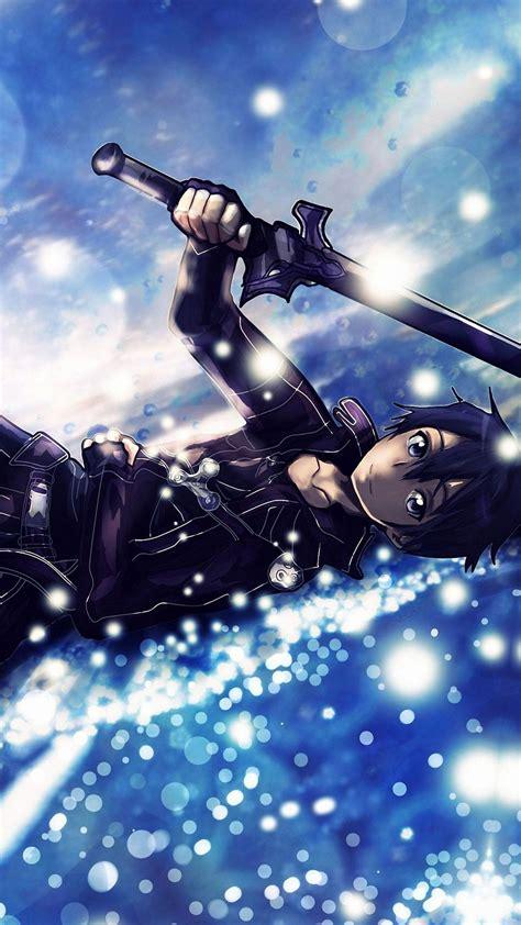 anime wallpaper hd for iphone 6 kirito sword art online iphone 6s wallpapers hd