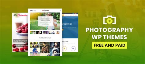 wordpress themes free or paid 5 photography wordpress themes free and paid formget