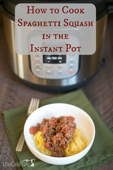 whole30 instant pot spaghetti sauce instant pot spaghetti squash and squashes on