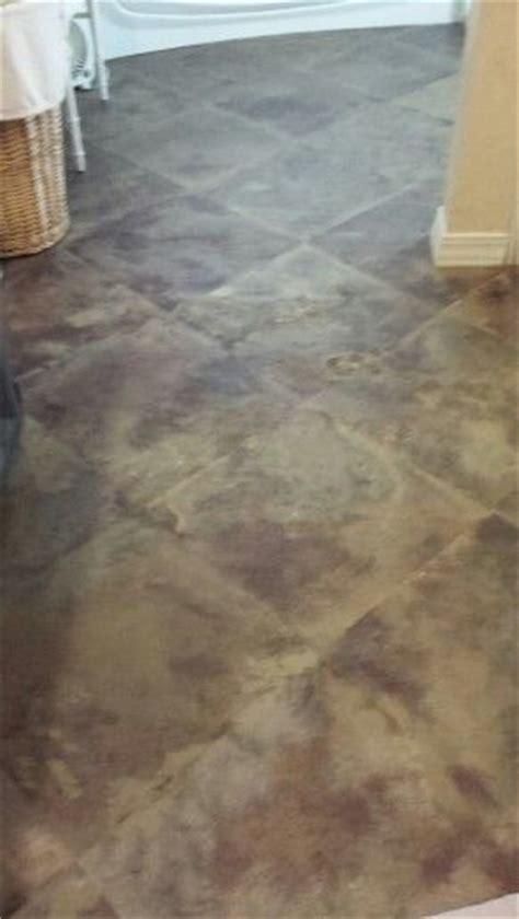 painted cement floor cement lament flooring etc pinterest