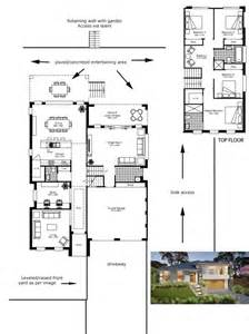 side split level house plans house design plans