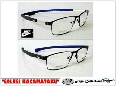 Kacamata Frame Nike 7077 Premium Sporty Half jual beli frame kacamata nike magnet sporty kaca mata