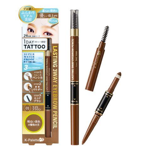 3 In 1 Obuse Eyebrow Powder Made Thailand k palette japan 1 day lasting 3 way eyebrow pencil eyebrow powder