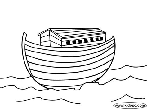 coloring pages noah s ark noah ark coloring page bible pinterest