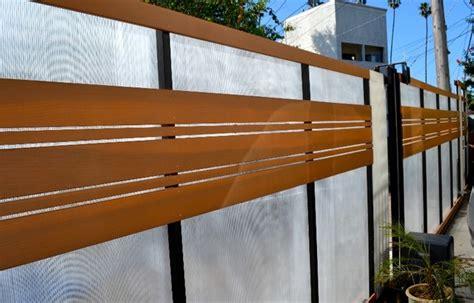 Home Decor Ideas South Africa plexiglass driveway gate horizontal clear redwood