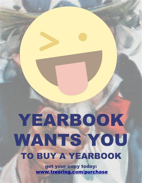 Yearbook Flyer Ideas
