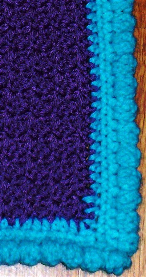 Crochet Edges On Blankets by Crochet Patterns For Blanket Edges Pakbit For