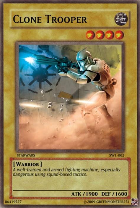 Kartu Yugioh Card Trooper Common 4 yugioh clone trooper by greenmonster251 on deviantart