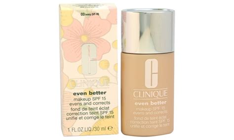 Clinique Even Better Makeup And Correct Foundation clinique even better makeup correct foundation spf15 03
